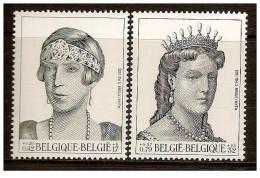 Belgio - 2001 - Nuovo/new MNH - Regine - Mi N. 3019/20 - Nuovi