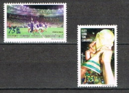 Cipro Turca - 1998 - Nuovo/new MNH - Campionati Mondiali Calcio - Mi N. 480/81 - Ongebruikt