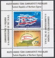 Cipro Turca - 1998 - Nuovo/new MNH - Ricorrenze - Mi Block 17 - Ongebruikt