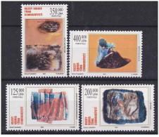 Cipro Turca - 2001 - Nuovo/new MNH - Arte - Mi N. 534/37 - Ongebruikt