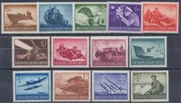 Germania Reich - 1944 - Nuovo/new MH - Militari - Mi N. 873/85 - Ongebruikt