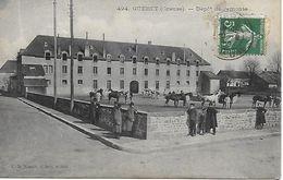 GUERET DEPOT DE REMONTE EDIT A. DE NUSSAC 1908 - Autres Communes