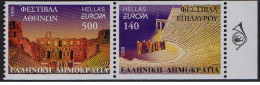 Grecia - 1998 - Nuovo/new MNH - Europa CEPT - Mi N. 1978C/79C - Greece
