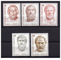 Grecia - 1998 - Nuovo/new MNH - Filosofi - Mi N. 1995/99 - Nuovi