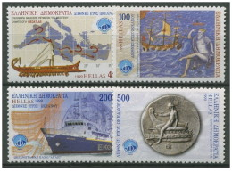Grecia - 1999 - Nuovo/new MNH - Oceani - Mi N. 2000/03 - Ongebruikt