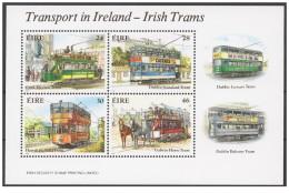 Irlanda - 1987 - Nuovo/new MNH - Treni - Mi Block N. 6 - 1949-... Repubblica D'Irlanda