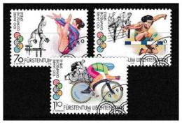 Liechtenstein - 1996 - Usato/used - Olimpiadi - Mi N. 1129/31 - Usati