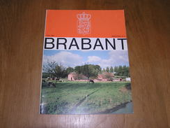 BRABANT Revue N° 3 1983 Régionalisme Brabant Wallon Bruxelles Marché Saint Géry Etterbeek Route Six Vallées Amédée Lynen - Bélgica