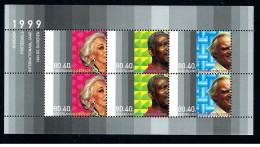 Olanda - 1999 - Nuovo/new MNH - Personaggi Famosi - Mi Block N. 59 - Periodo 1980 - ... (Beatrix)