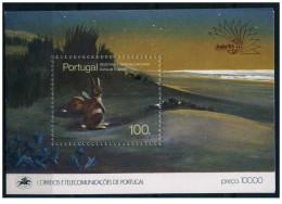 Portogallo - 1985 - Nuovo/new MNH - Animali - Mi Block 48 - 1910-... République