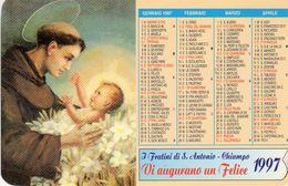 1997 - Chiampo (VI) - I Fratini Di S. Antonio Vi Augurano Un Felice 1997 - Calendarios