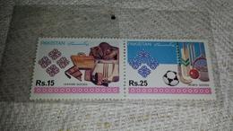 Pakistan Sport Sporta Goods Laether Goods Mnh ** - Pakistan