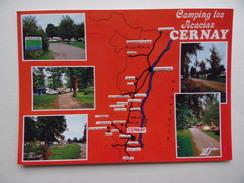 68 CERNAY CAMPING Les ACACIAS Campeur - Cernay