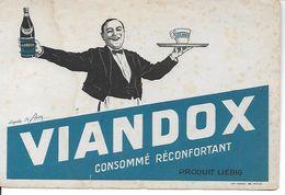 Buvard Viandox, Consommé Réconfortant. Produit Liebig. - Alimentare