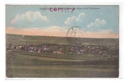 89 Thorigny Sur Oreuse Les Rues Et Le Panorama Cachet 1930 , Voir état Ci Dessous - Autres Communes
