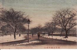 2545 16 Yokohama Park, Snow Scene  (bambu Card) - Altri