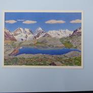 Gottardo   Segantini  Fuorela Surlej Piz  Bernina  Piz Rosegg Und  Sellagruppe - Paintings