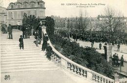 Limoges Rampe Du Jardin D'orsay Et Champ De Foire - Limoges