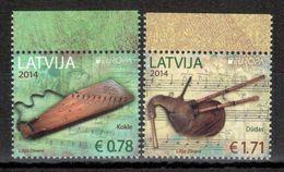 Lettland / Latvia / Lettonie 2014 Satz/set EUROPA ** - 2014