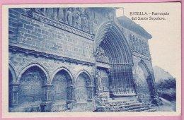 L150A_768 - Estella - Parroquia Del Santo Sepulcro - Navarra (Pamplona)