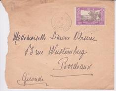 POSTES NOUVELLE CALEDONIE ET DEPENDANCES - TIMBRE 50 C VIOLET N 150 - CACHET 1933 - Neukaledonien