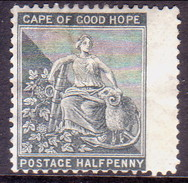 SOUTH AFRICA CAPE OF GOOD HOPE 1875 SG #28 ½d MNG Wmk Cown CC CV £38 - Cape Of Good Hope (1853-1904)