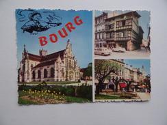 01 BOURG-en-BRESSE Eglise De Brou Square Lalande Vieille Maison - Bourg-en-Bresse
