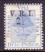 SOUTH AFRICA ORANGE FREE STATE 1900 SG #104 2½d On 3d MNG (gum Remnants) CV £22 - South Africa (...-1961)