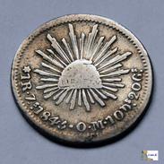 México - Zacatecas - 1 Real - 1845 - México
