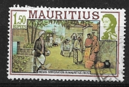 MAURITIUS    1978 Maps And Historical Events USED - Maurice (1968-...)