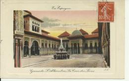 Granada - Alhambra - La Cour Des Lions - 2 Scans - Granada