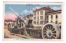 21 Dijon Quartier Junot 186e RALT Artillerie Pièce De 220 Canon Correspondance 1934 - Dijon