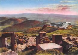 SOMMET DU PUY DE DOME Ruines Du Temple De Mercure Chaine Des Puy Sud Et Massif Des Monts Dore19(scan Recto-verso) MA1505 - Altri Comuni