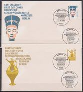 Berlin FDC 1989 MiNr.831 - 832  Sehenswürdigkeiten ( D 5533 )  Günstige Versandkosten - FDC: Briefe