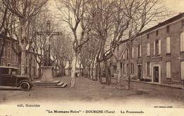 81)  DOURGNE    -  La  Promenade - Dourgne