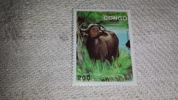 CONGO 1993 - WILD ANIMALS ANIMAL RHINO Rinoceronte Animale MNH ** - Rhinozerosse