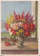 BOUQUET FLORES FLOWERS FLEURES, PAINT, EDITION STOHLI, STZF. MARIPOSA BUTTERFLY PAPILLON-TBE-BLEUP - Bloemen