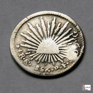 México - 1/2 Real - Guanajuato - 1856 - México