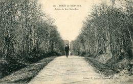Foret De Mervent Route Du Roc Saint Luc Circulee En 1914 - Frankreich