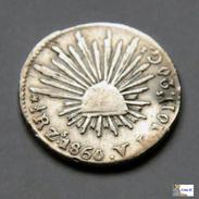 México - Zacatecas - 1/2 Real - 1860 - México