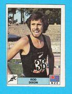 PANINI OLYMPIC GAMES MONTREAL '76. No. 114. ROD DIXON Athletics New Zealand Juex Olympiques 1976 * Yugoslav Edition - Athlétisme