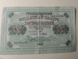 Russia 1917 1000 Rubli - Russia