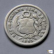 Perú - 1/5 Sol - 1865 - Perú