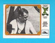 PANINI OLYMPIC GAMES MONTREAL '76. No. 18 JOHN JARVIS England Swimming Juex Olympiques 1976 * Yugoslav Edition - Swimming