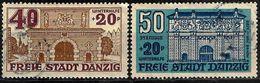 DANZIG - MICHEL NR. 265 + 266 - 1919-1939 Republic