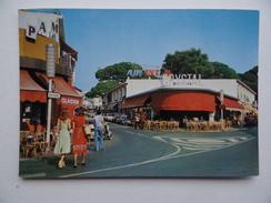 06 JUAN-Les-PINS Centre-Ville Publicité AIR FRANCE Bar CRYSTAL PAM Commerce Scooter - Francia