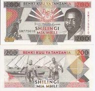 Tanzania  P-25  200 Shilingi 1993  UNC - Tanzanie