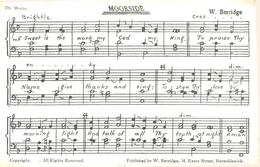 LANCS - SONG CARD - MOORSIDE  La3075 - Inghilterra