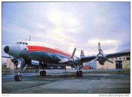 Aviation Postcard-384-AIR INDIA Lockheed L-1049 CONSTELATION - 1946-....: Moderne