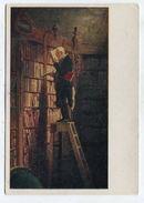 PAINTING - AK 310478 Carl Spitzweg - Der Bibliothekar - Malerei & Gemälde